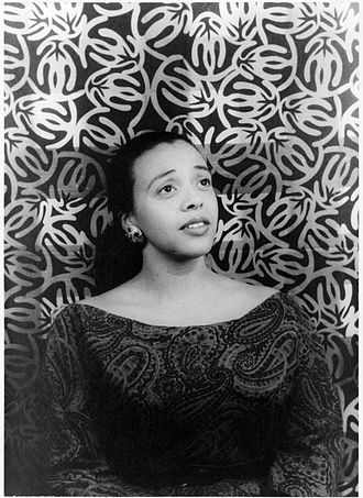 Adele Addison - Adele Addison in 1955 (photographed by Carl Van Vechten)