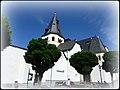 Adenau – Die heutige kath. Pfarrkirche St. Johannes wurde im 10.-11. Jahrhundert als Eigenkirche der Grafen von Are erbaut - panoramio.jpg