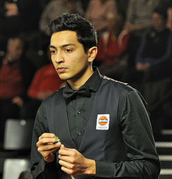 Aditya Mehta at Snooker German Masters (Martin Rulsch) 2014-01-29 06.jpg