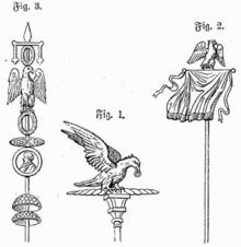 Adler der römischen legionen