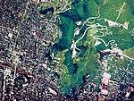 Aerial photograph of Kofu city Mount Atago.jpg