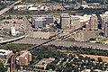 Aerial view of Eisenhower Avenue station area, September 2018.JPG