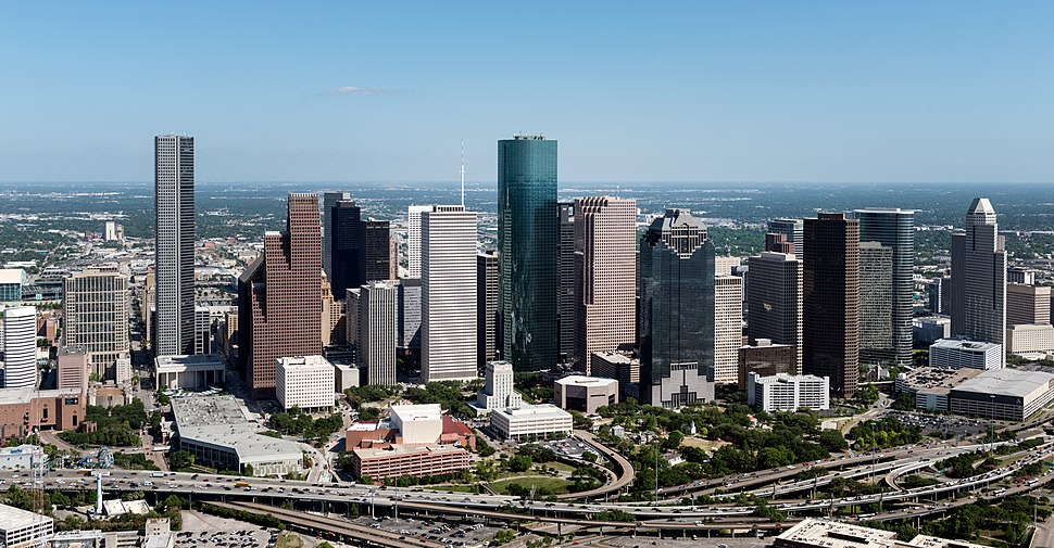 Aerial views of the Houston, Texas, 28005u