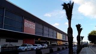 international airport serving Ibiza, Spain