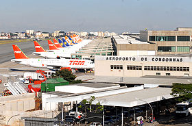 Image illustrative de l'article Aéroport international de Congonhas