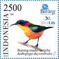 Aethopyga duyvenbodei 2012 Indonesia stamp.jpg