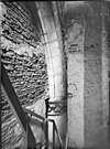 afgescheurde traptoren zuid transept koor - leiden - 20134100 - rce