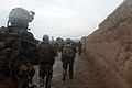 Afghan National Army soldiers with the 5th Commando Kandak conduct a patrol and clearing operation in Boz Qandahari, Kunduz district, Kunduz province, Afghanistan, April 28, 2012 120428-A-BT925-006.jpg