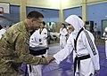 Afghan youth taekwondo team shows ISAF kickin' good time DVIDS477549.jpg
