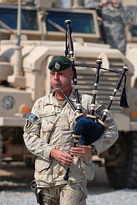 A Canadian Solr Plays The Bagpipes During War In Afghanistan Are Frequently Used Funeralemorials Especially Among Fire