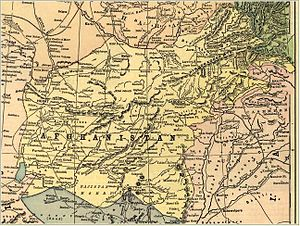 Emirate of Afghanistan - Afghanistan before the 1893 Durand Line Agreement