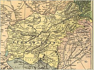 Durand Line - Afghanistan before the 1893 Durand Line Agreement