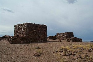 National Register of Historic Places listings in Petrified Forest National Park - Image: Agate House