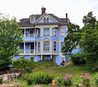 National Register of Historic Places listings in Josephine County, Oregon - Image: Ahlf House Grants Pass Oregon