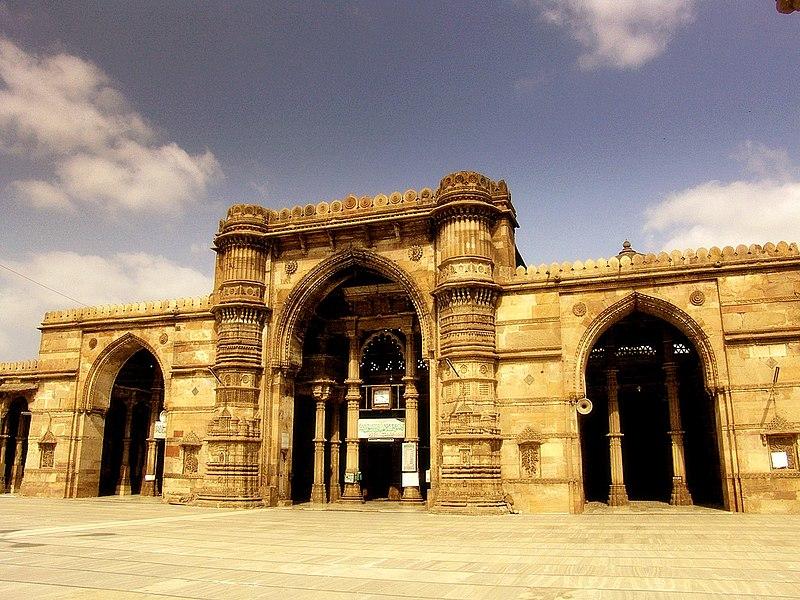 File:Ahmedabad Jama Masjid 2.jpg