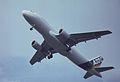 Airbus A320-111 F-WWDC Airbus Industrie, Farnborough UK, September 1988. (5589936716).jpg