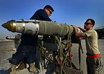 Airmen prepare to load a Joint Direct Attack Munition.jpg