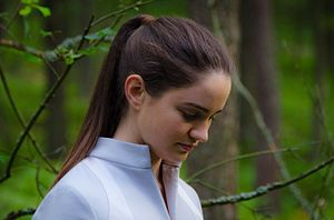 Aisling Franciosi - Franciosi filming Ambition: Epilogue to promote the Rosetta mission for the European Space Agency