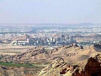 Al Ain - Al Ain Cement Factory