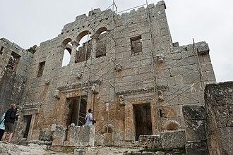 Alahan Monastery - West façade of the East Church