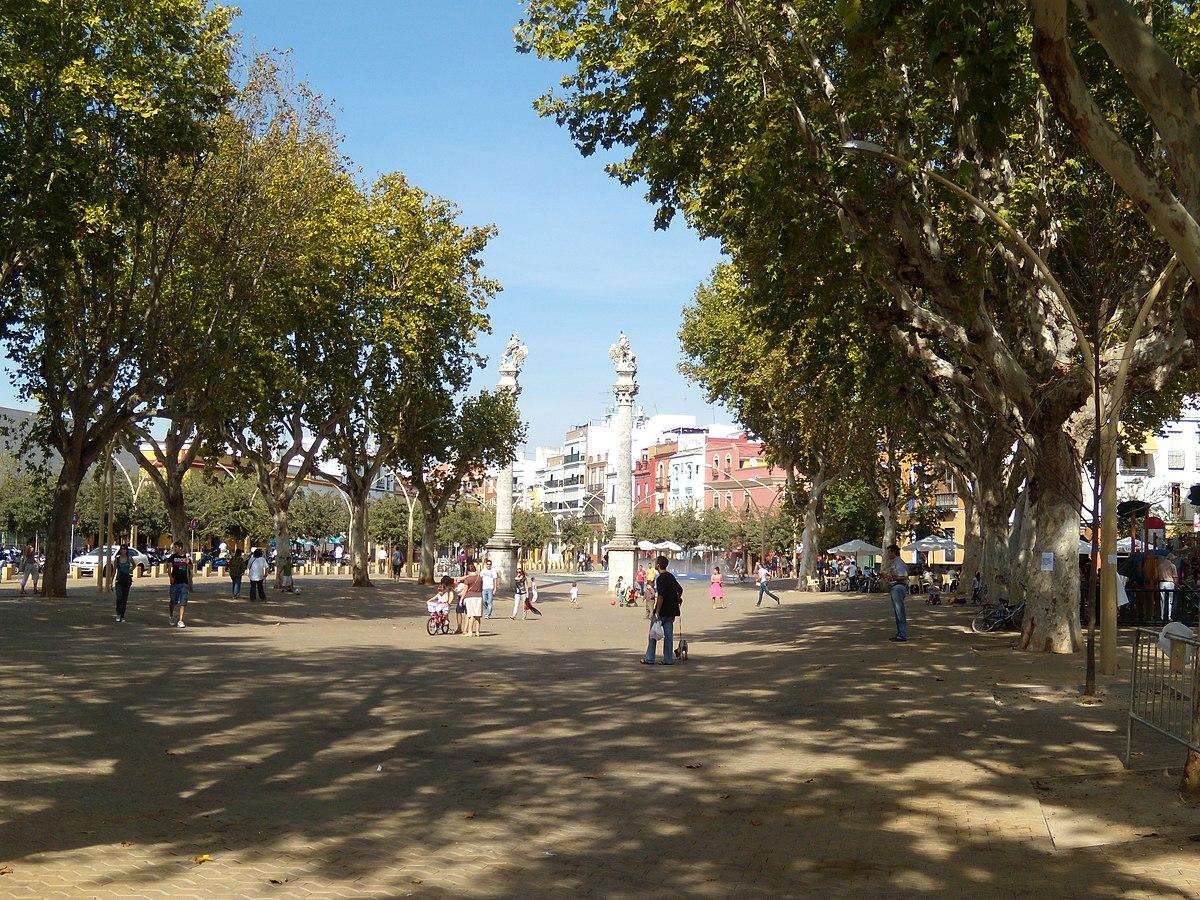 Promenade d 39 hercule wikip dia - Jardines de hercules sevilla ...