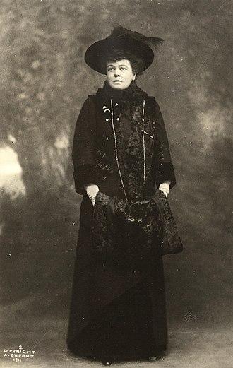 Alva Belmont - Alva E. Belmont in 1911.