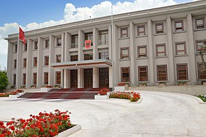 President of Albania - The Presidential Office in Tirana.