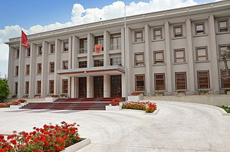 Politics of Albania - The Presidential Office, the official workplace of the President.