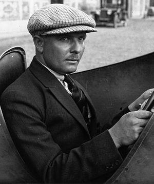 Albert Divo - Albert Divo at the 1924 French Grand Prix