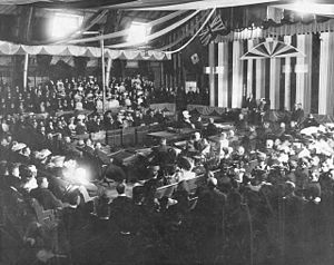 1st Alberta Legislature - Formal opening of the Legislative Assembly, March 15, 1906.