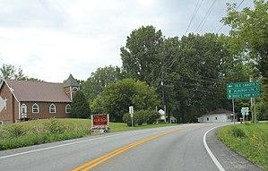 Alburgh (town), Vermont - Image: Alburgh VT Sign US2