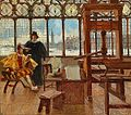 Aldus in His Printing Establishment at Venice Showing.jpg