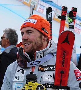 Aleksander Aamodt Kilde Norwegian World Cup alpine ski racer