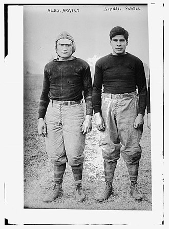 1912 Carlisle Indians football team - Alex Arcasa and Possum Powell.