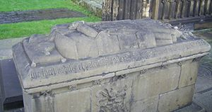 Alexander Gordon, 1st Earl of Huntly - Tomb of Alexander Gordon, in Elgin Cathedral
