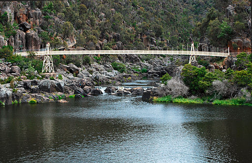 Alexandra Suspension bridge - launceston tasmania
