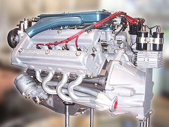 Alfa Romeo Montreal - Image: Alfa Romeo Montreal Motor Arese 2015 09 07