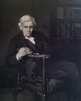 Alfred Ainger - Portrait of Alfred Aigner by Hugh Goldwin Rivière