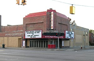 National Register of Historic Places listings in Detroit - Image: Alger Theater Detroit