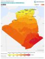 Algeria GHI Solar-resource-map lang-FR GlobalSolarAtlas World-Bank-Esmap-Solargis.png