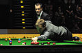 Ali Carter and Olivier Marteel at Snooker German Masters (DerHexer) 2013-02-03 02.jpg