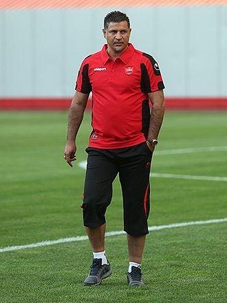 Ali Daei - Daei in Persepolis training