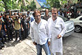 Ali Khan, Raza Murad visits Dara Singh's home 06.jpg