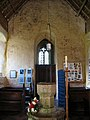 All Saints, Horsey, Norfolk - West end and font - geograph.org.uk - 321593.jpg
