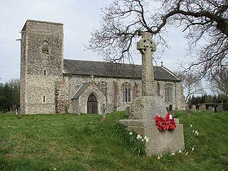 Skeyton Human settlement in England