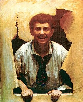 José Ferraz de Almeida Júnior - A Boy (1882)
