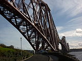 Almost underneath the Forth Rail Bridge (5425646359).jpg