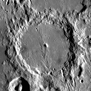 Alphonsus (crater) impact crater