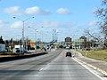 Ambassador Bridge approach Canadian side. (2231001653).jpg