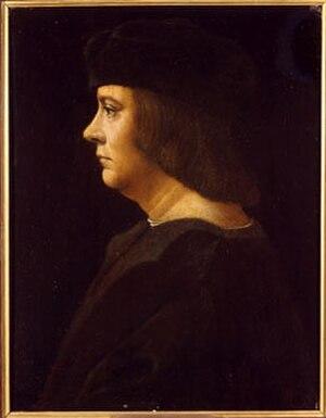 Lucien, Lord of Monaco - Image: Ambrogio de Predis Lucien I Prince of Monaco